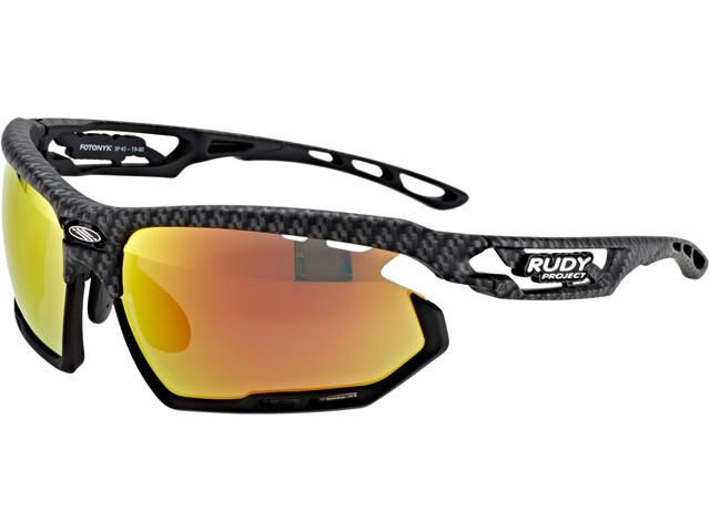 Rudy Project Fotonyk Glasses carbonium - polar 3fx hdr multilaser orange
